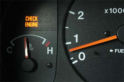 Check Engine Or Service Soon Light