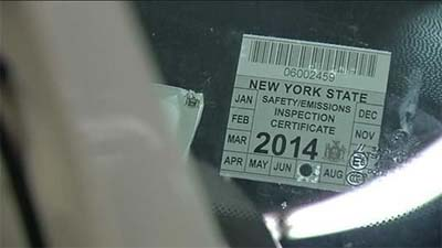 NEW YORK STATE REGISTRATION BASED ENFORCEMENT. Vehicles that fail the emissions inspection ...